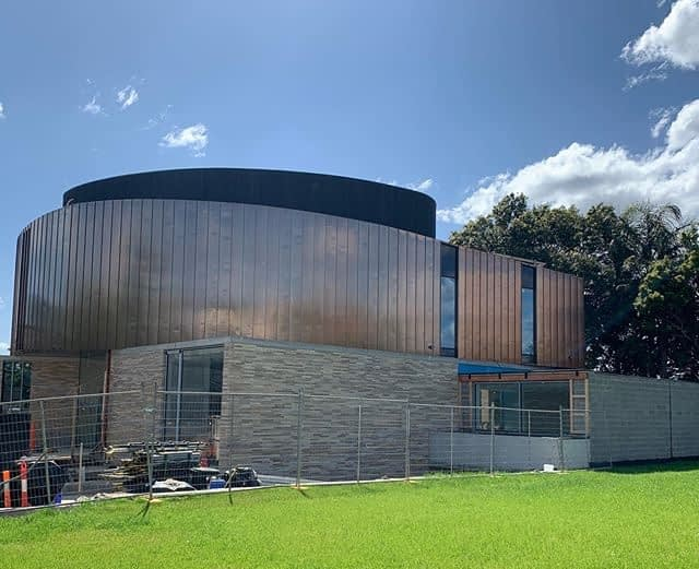 , Copper Standing Seam Metal Cladding Soars To New Heights