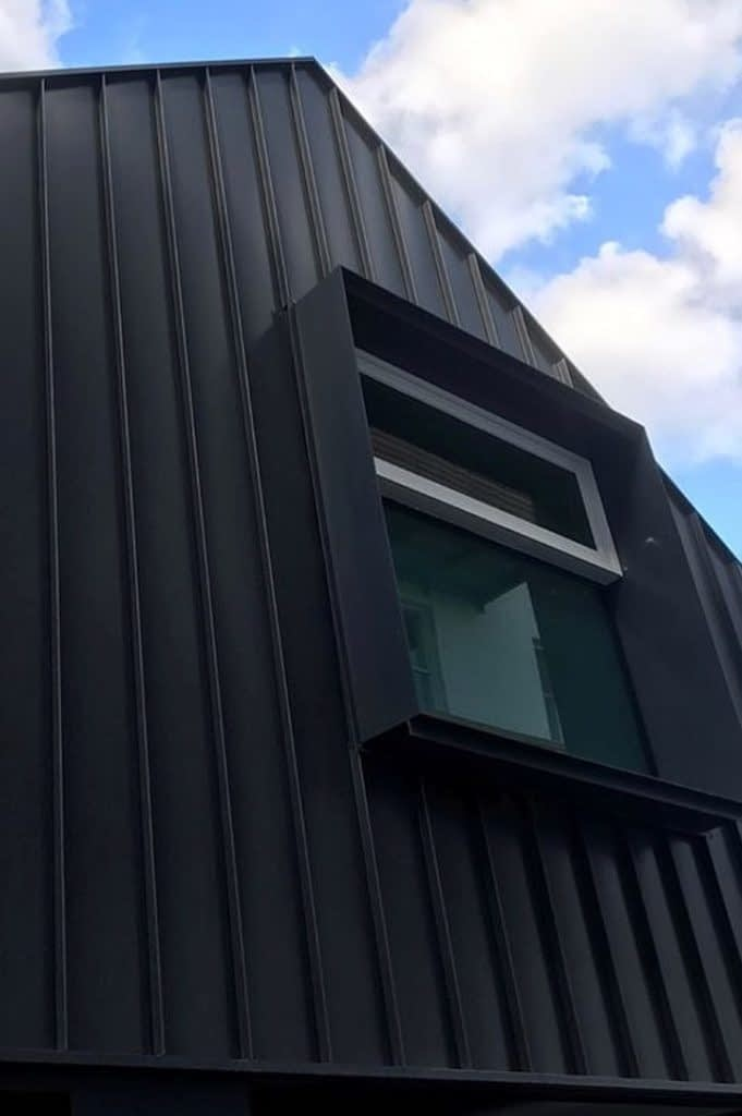 , The Breathtaking Beauty Of COLORBOND® steel​ Matt With Nailstrip Metal Cladding