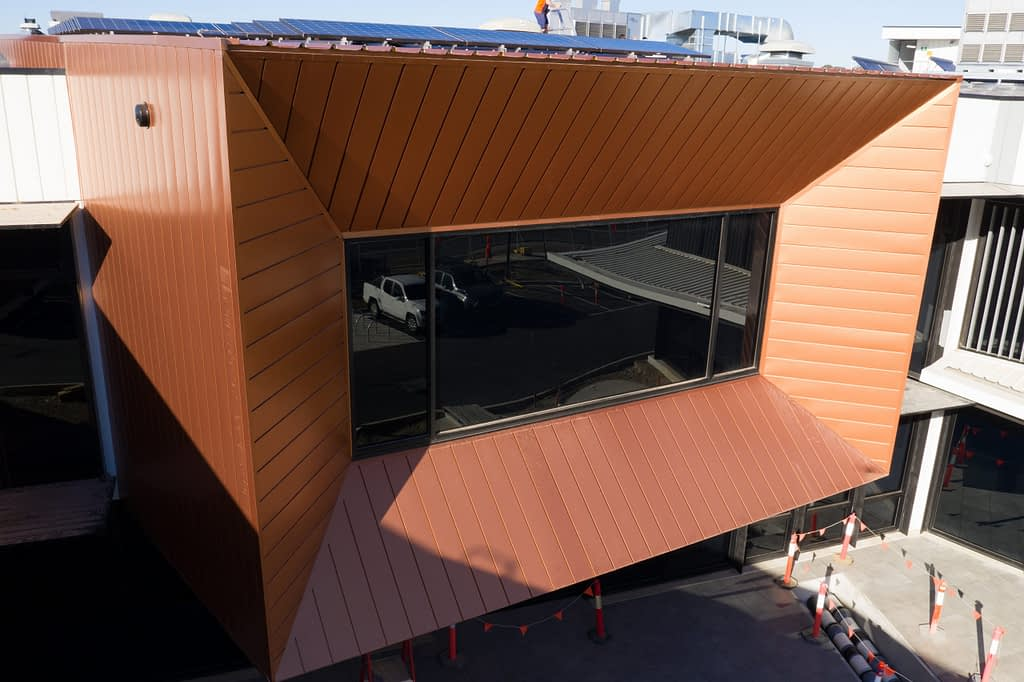 PICAC Impresses With COLORBOND® steel Interlocking Panels