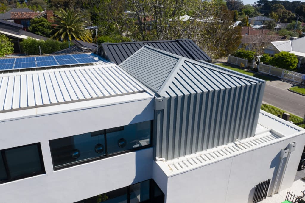 Standing Seam cladding