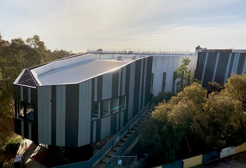 , Nailstrip Metal Cladding Provides A Captivating Exterior For Deakin University