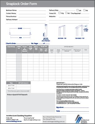 snaplock order form